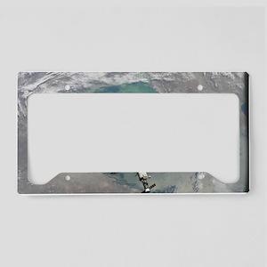 Space Station License Plate Holder