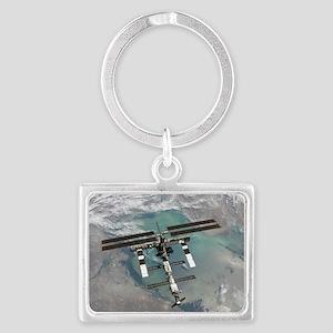 Space Station Landscape Keychain