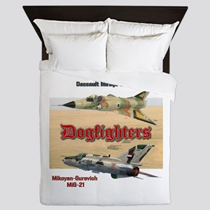 Dogfighters: Mirage vs MiG-21 Queen Duvet