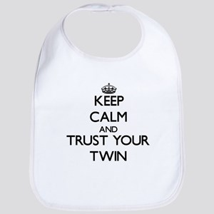 Keep Calm and Trust your Twin Bib