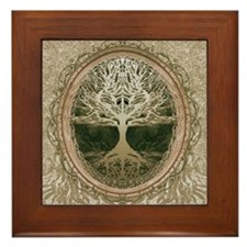 Peaceful Retreat Framed Tile