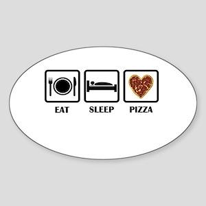 Eat Sleep Pizza Sticker