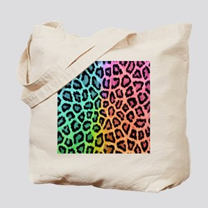 Colorful Leopard Tote Bag