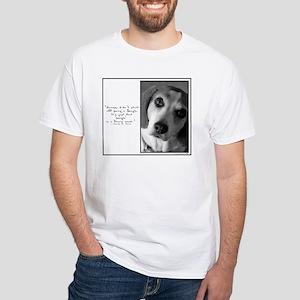 Funny Name - White T-Shirt