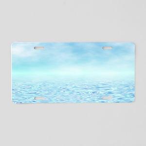 Sea of Serenity Aluminum License Plate