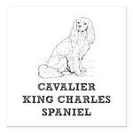 Cavalier King Charles Sp Square Car Magnet 3