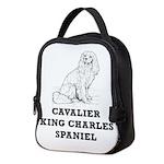 Cavalier King Charles Spaniel Neoprene Lunch Bag