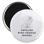 Cavalier King Charles Spaniel Magnet