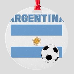 Argentina soccer Ornament