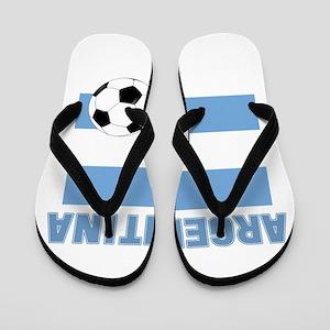 Argentina soccer Flip Flops