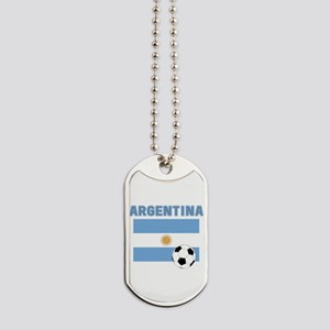 Argentina soccer Dog Tags