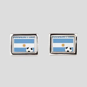 Argentina soccer Rectangular Cufflinks