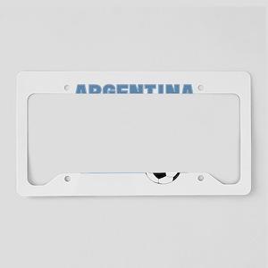 Argentina soccer License Plate Holder