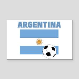 Argentina soccer Rectangle Car Magnet
