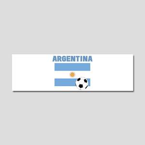 Argentina soccer Car Magnet 10 x 3
