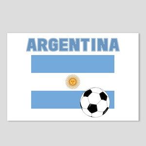 Argentina soccer Postcards (Package of 8)