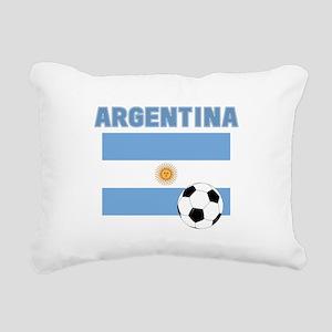 Argentina soccer Rectangular Canvas Pillow