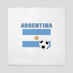 Argentina soccer Queen Duvet