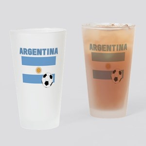 Argentina soccer Drinking Glass