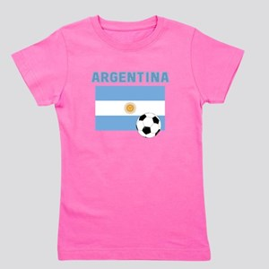 Argentina soccer Girl's Tee