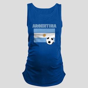 Argentina soccer Maternity Tank Top