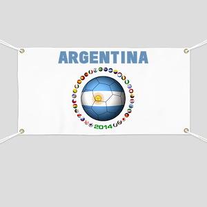 Argentina soccer Banner