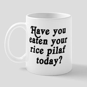 rice pilaf today Mug
