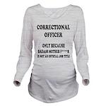 Badass CO Long Sleeve Maternity T-Shirt