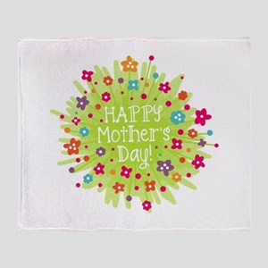 Happy Mother's Day! Throw Blanket