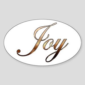 Joy Sticker (Oval)