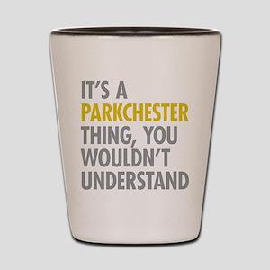 Parkchester Bronx NY Thing Shot Glass