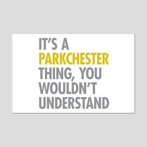 Parkchester Bronx NY Thing Mini Poster Print