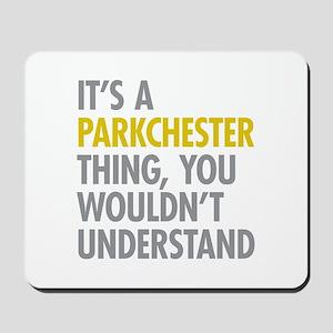 Parkchester Bronx NY Thing Mousepad