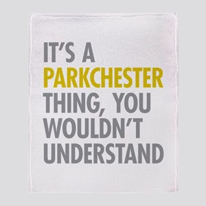 Parkchester Bronx NY Thing Throw Blanket