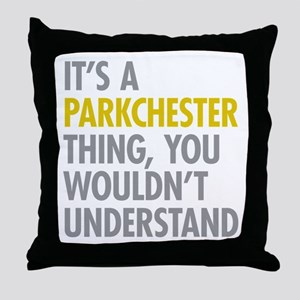 Parkchester Bronx NY Thing Throw Pillow