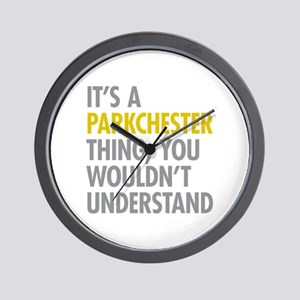 Parkchester Bronx NY Thing Wall Clock