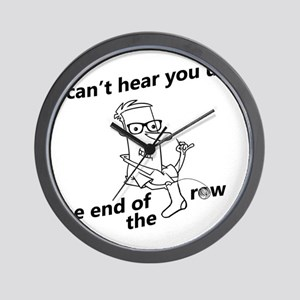 until the end of the row Wall Clock