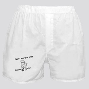 until the end of the row Boxer Shorts
