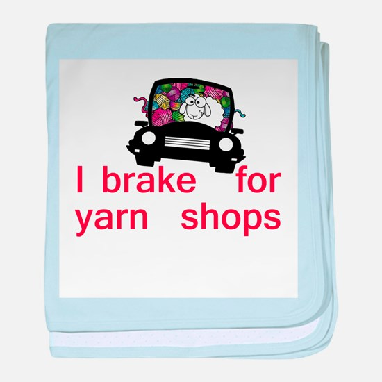 Brake for yarn shops baby blanket