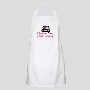 Brake for yarn shops Apron