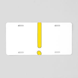 horde01 Aluminum License Plate