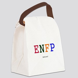 ENFP Canvas Lunch Bag