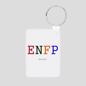 ENFP Aluminum Photo Keychain