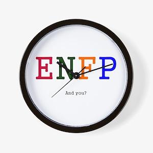 ENFP.jpg Wall Clock