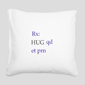 hug Square Canvas Pillow