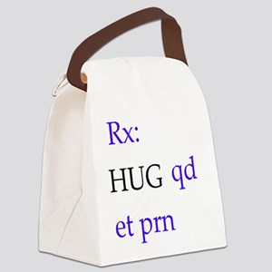 hug Canvas Lunch Bag