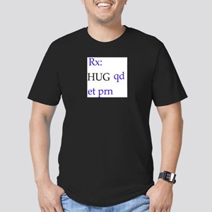 hug Men's Fitted T-Shirt (dark)