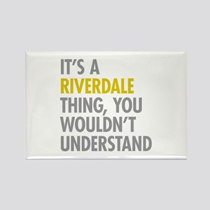 Riverdale Bronx NY Thing Rectangle Magnet