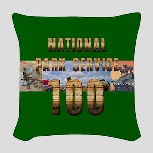 ABH NPS 100th Anniversary Woven Throw Pillow