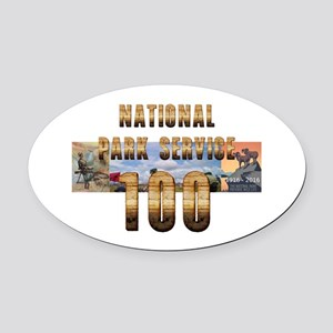 ABH NPS 100th Anniversary Oval Car Magnet